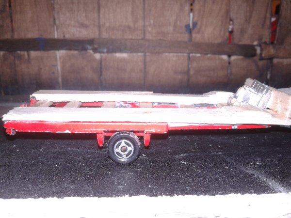 diorama casse fabrication d un plateau