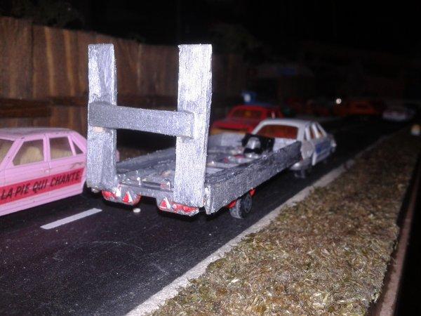 diorama casse et voila le plateau fini