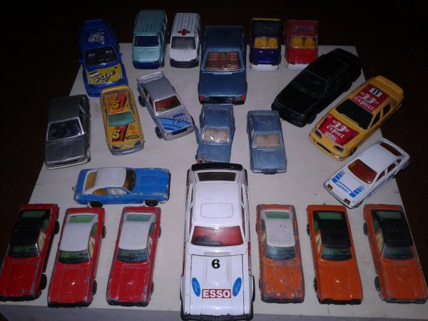 une partis de ma collection ford