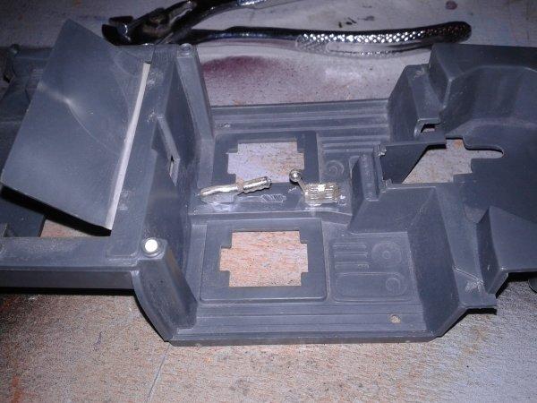 r5 turbo petite modif  rajout d un frein a main d un levier vitesse et 2 sieges baquets