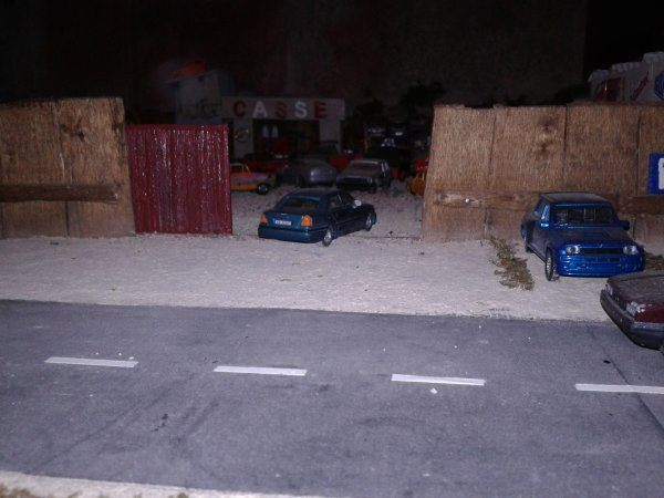 diorama casse le portail coullissant fini