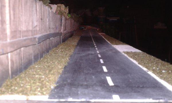 diorama la casse la portion route est enfin fini