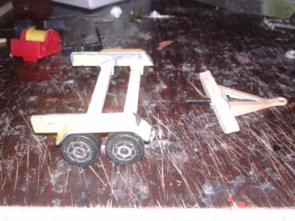 fabrication d un plateau 1/43 en court de sechage bientot fini