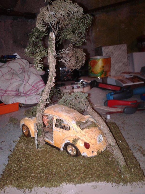 diorama epave de cox