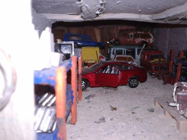 diorama la casse quelques photos de l évolution de la casse