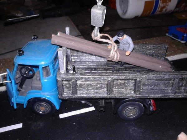 une petite mise en scene du diorama N7