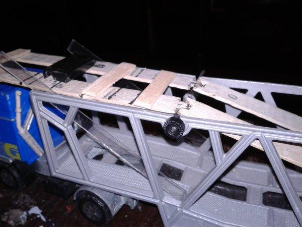 remorque porte voiture majorette fabrica tion complete de la partis haute
