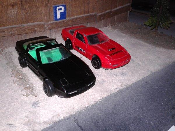 majorette corvette ZR1 modifier