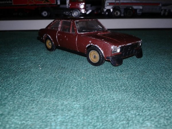 solido peugeot 504 coupe v6 1/43