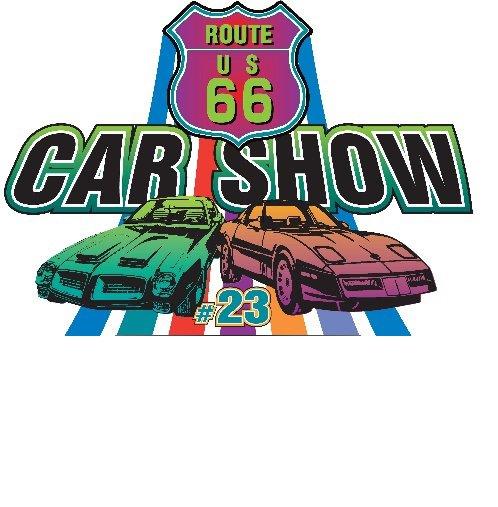 DIORAMA ROUTE US 66 CAR SHOW