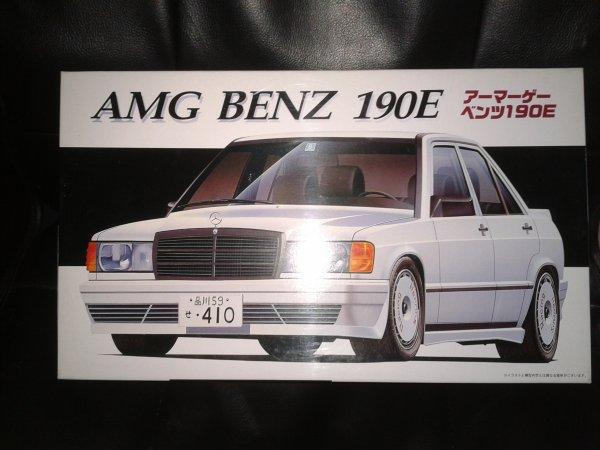 fujimi AMG BENZ 190E