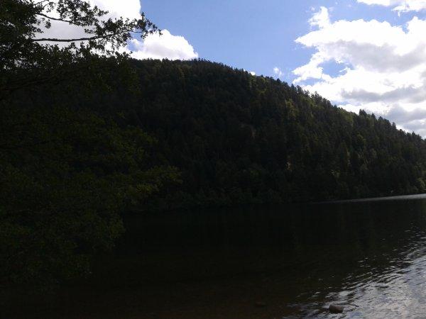 trouvaille du dimanche a Xonrupt Longemer et vu sur le lac