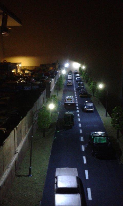 casse majorette et autres finition de la route et de l' éclairage