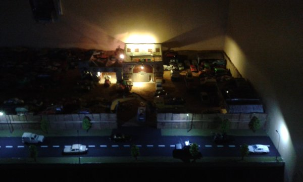 casse majorette et autres éclairage des bâtiments