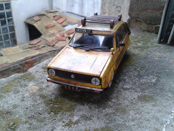 VW golf 1 GTI RAT STYLE 1/24