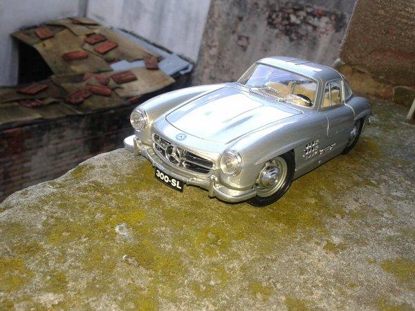 burago Mercedes 300 sl