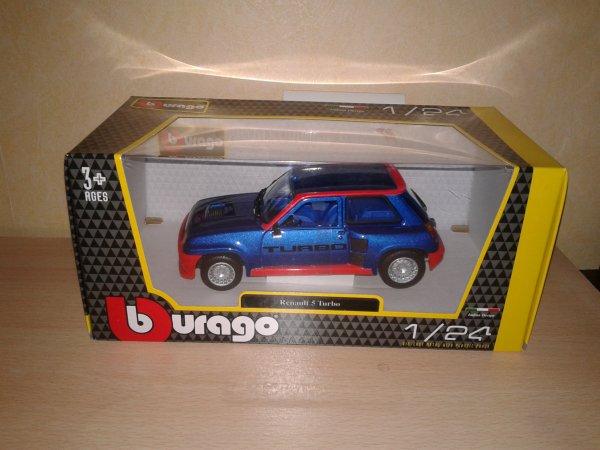 burago renault 5 turbo