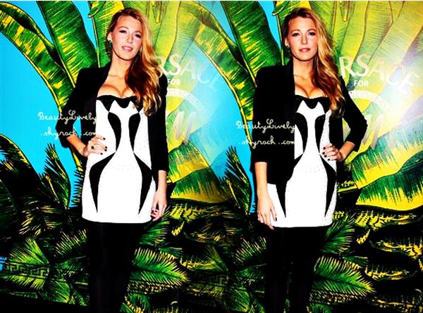 08/11 Blake s'est rendu a l'évènement Versace For H&M Event.