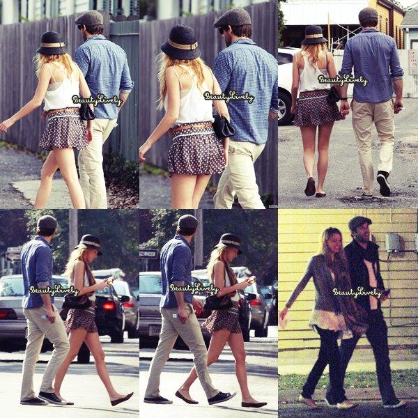 21/01 Blake accompagnée de son petit-ami Rayan ont été vu à la Nouvelle Orléans.