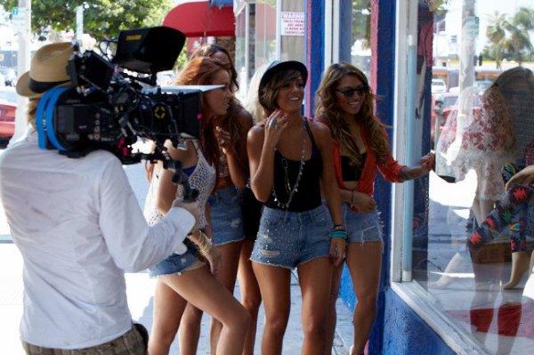 Sur le tournage de What About Us [2eme partie]