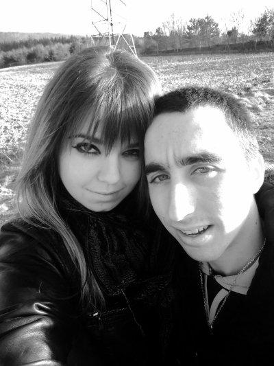 Mon homme et moi <3