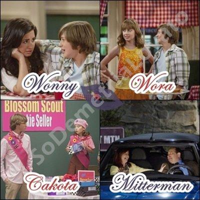 Les couples dans Sonny With A Chance ... A votre avis, Imaginaires, Ou bien réels ?