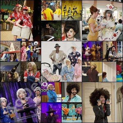 Série basée sur l'humour oblige, les acteurs de S.W.A.C. doivent porter une tonne de costumes !