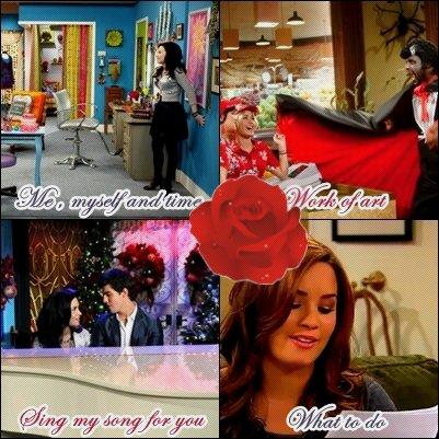 Sonny With A Chance est à la base une série basée sur l'humour , mais Demi a décidé d'y mettre un peu de son talent dedans ... Le chant !
