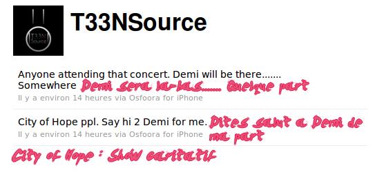 Nouvelles photos Perso de Demi, ainsi que des Twitter News