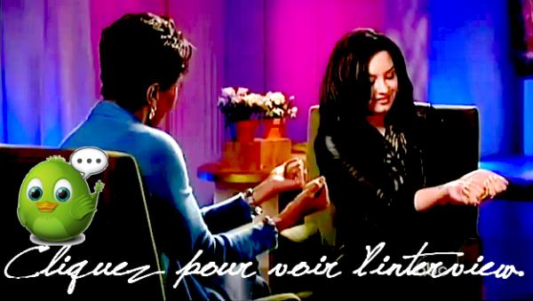 Découvrez la fameuse interview pour 20/20 qu'a enregistré Demi !