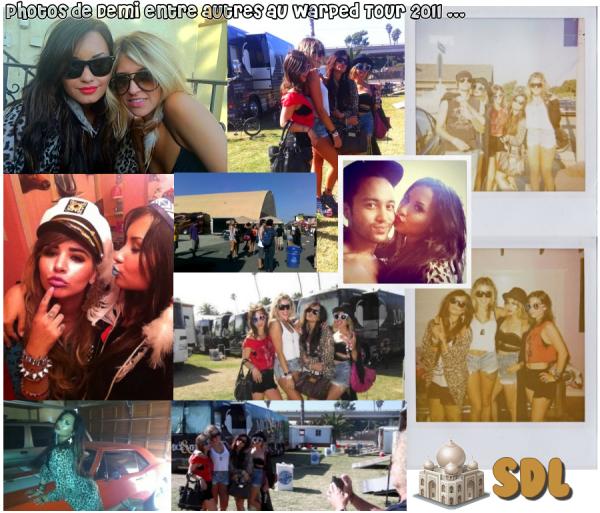 Photos personnelles de Demi.