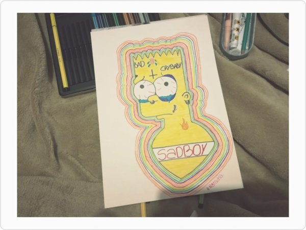 {~Psychédélic Simpson~}
