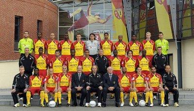 équipe de lens saison 2010/2011