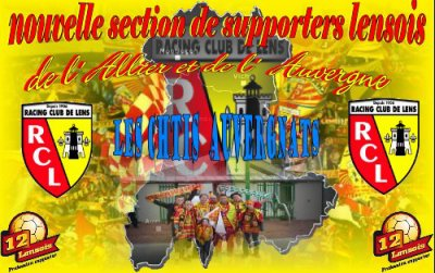 section de supporters lensois de l'allier et d'auvergne