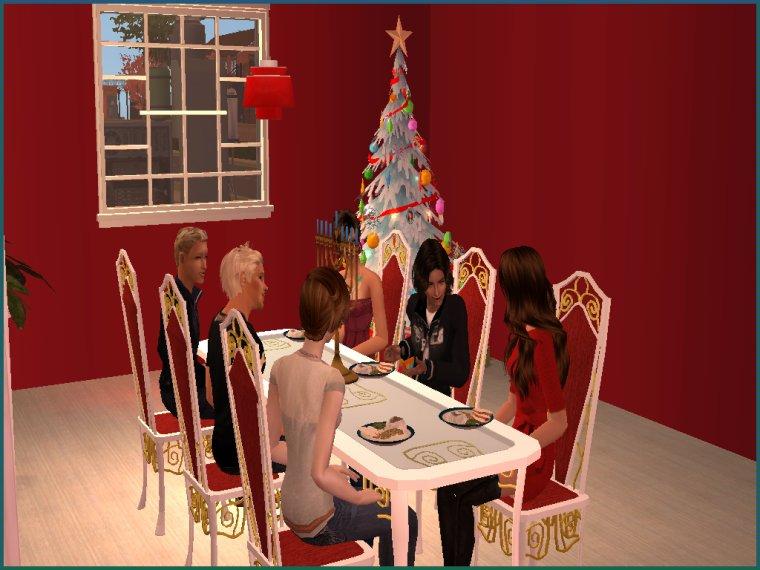 Meg parle des fêtes de fin d'année