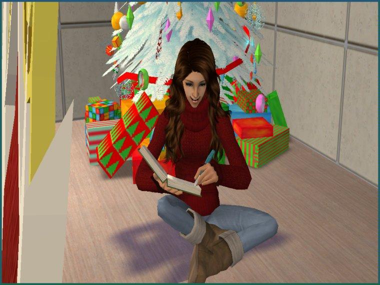 Meg parle de sa liste de Noël :