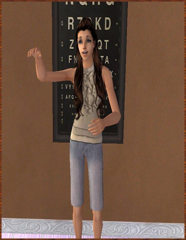 Meg veut jouer au jeu des Trois Mots
