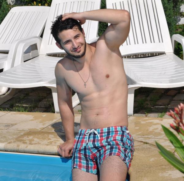 Moi à la piscine !
