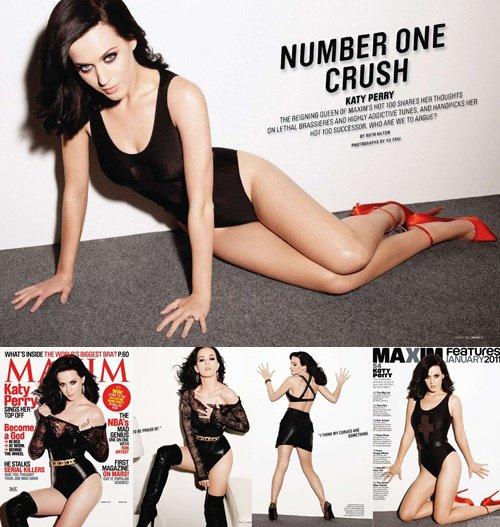 Katy Perry pour Maxim