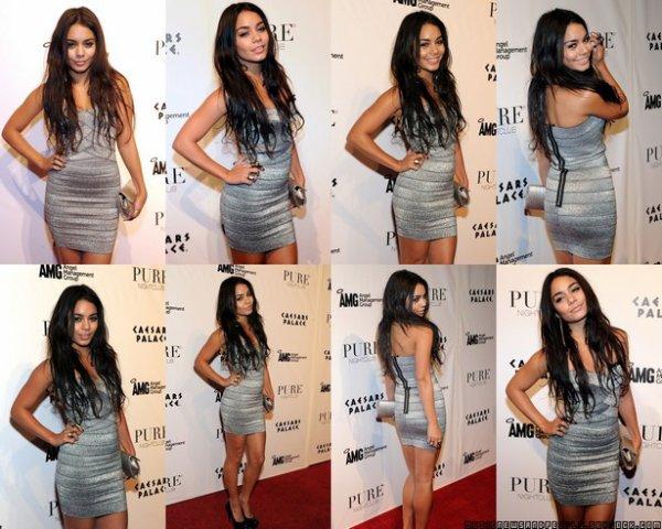 Vanessa Hudgens a été invitée à une fête d'anniversaire tardive à Las Vegas, Nevada, samedi soir (Décembre 18) .  Zanessa Is DEAD . :(