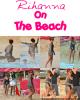 Rihanna a été repéré sur la plage de Sandy Lane à la Barbade (Dimanche 26 Décembre).