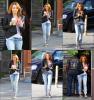 Miley Cyrus était au Coffee Bean & Tea Leaf à Toluca Lake, en Californie, le samedi (Février 5).