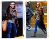 Miley Cyrus s'est offert une promenade pour se rendre dans un magasin de chaussure à New York lundi après-midi (Février 28).