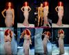 """Rihanna était invité à l'émission """"American Idol"""", où elle a chanté California King Bed , jeudi soir (14 avril)."""