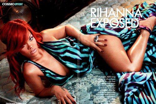 Photoshoot Rihanna Pour Cosmo :) . Admirez. .