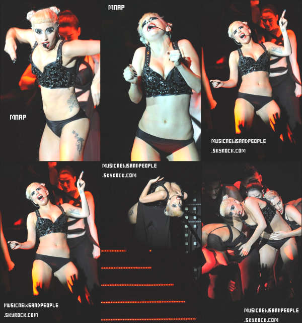 Lady Gaga au MTV Video Music Aid Japan 2011 ! Enjoy !   Quand on me dit que je suis folle , je regarde Lady Gaga et là ça me rassure .