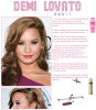 Hairstyle, Demi Lovato.