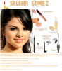 Makeup, Selena Gomez.