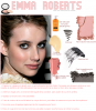 Makeup, Emma Roberts.
