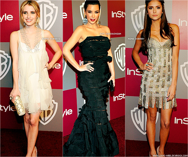 Event, Instyle & Golden Globes post-party.